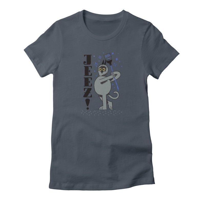Jeez Women's T-Shirt by Burrito Goblin
