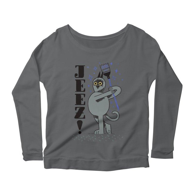 Jeez Women's Longsleeve T-Shirt by Burrito Goblin