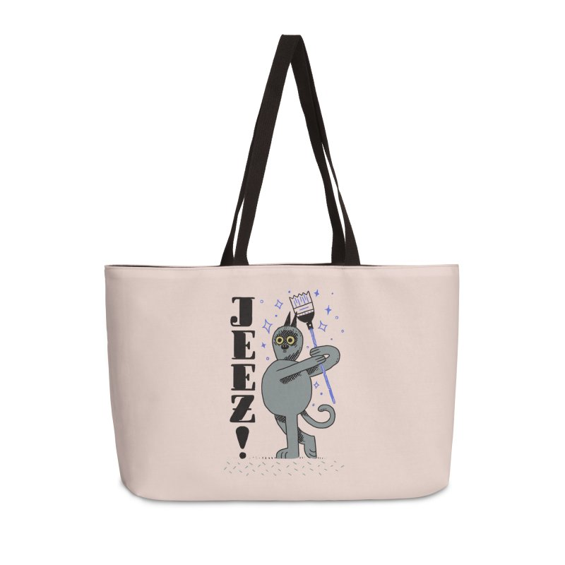 Jeez Accessories Weekender Bag Bag by Burrito Goblin