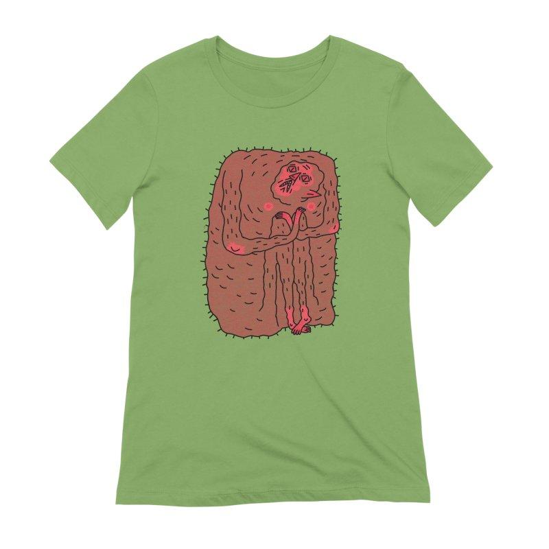 No Hugs Pls Women's Extra Soft T-Shirt by Burrito Goblin
