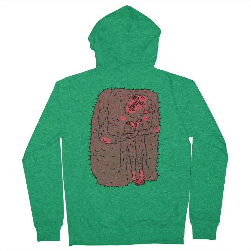 No Hugs Pls Men's Zip-Up Hoody by Burrito Goblin