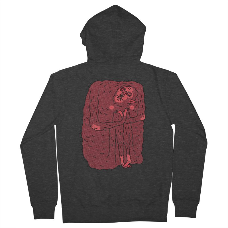 No Hugs Pls Men's Zip-Up Hoody by Burrito Goblin