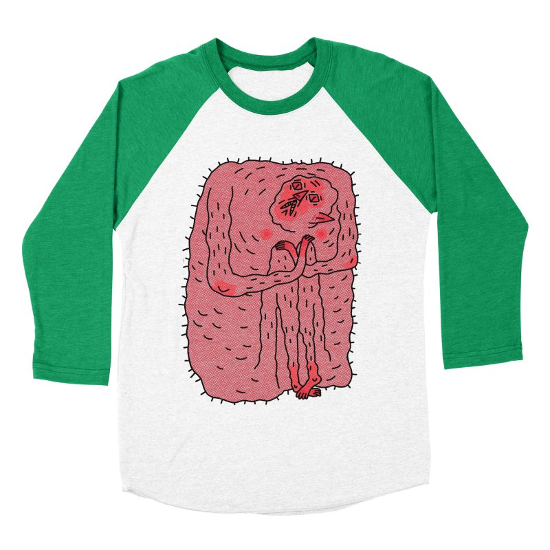 No Hugs Pls Women's Baseball Triblend T-Shirt by Burrito Goblin