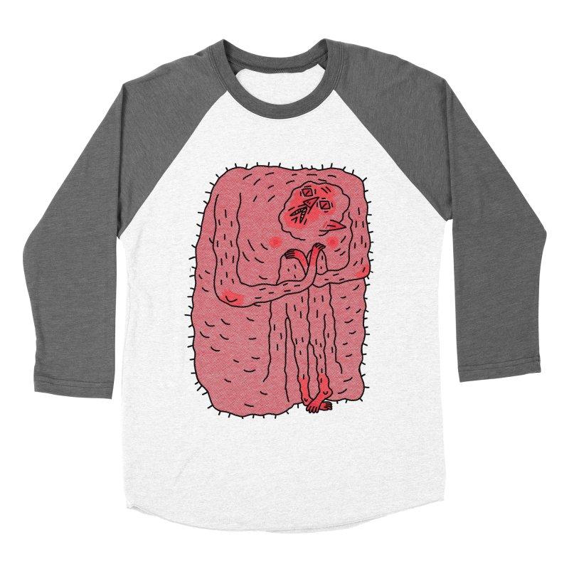 No Hugs Pls Men's Baseball Triblend Longsleeve T-Shirt by Burrito Goblin