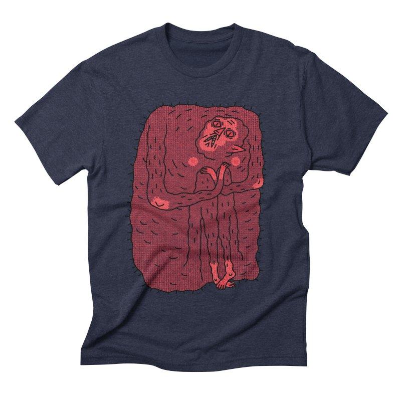 No Hugs Pls Men's Triblend T-shirt by Burrito Goblin