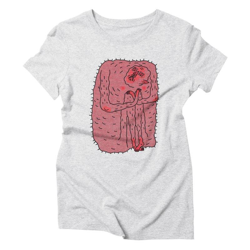 No Hugs Pls Women's Triblend T-Shirt by Burrito Goblin