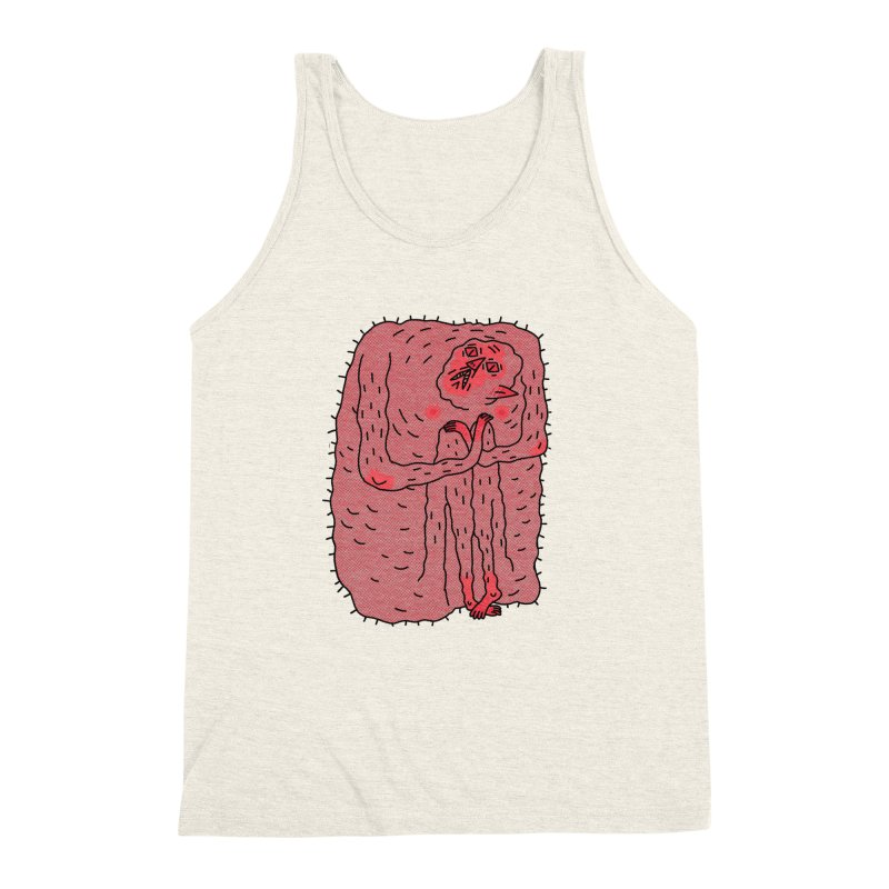 No Hugs Pls Men's Triblend Tank by Burrito Goblin