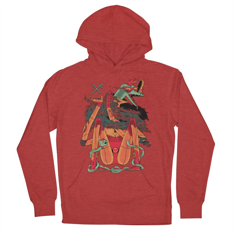 Gibbler 7 Men's Pullover Hoody by Burrito Goblin