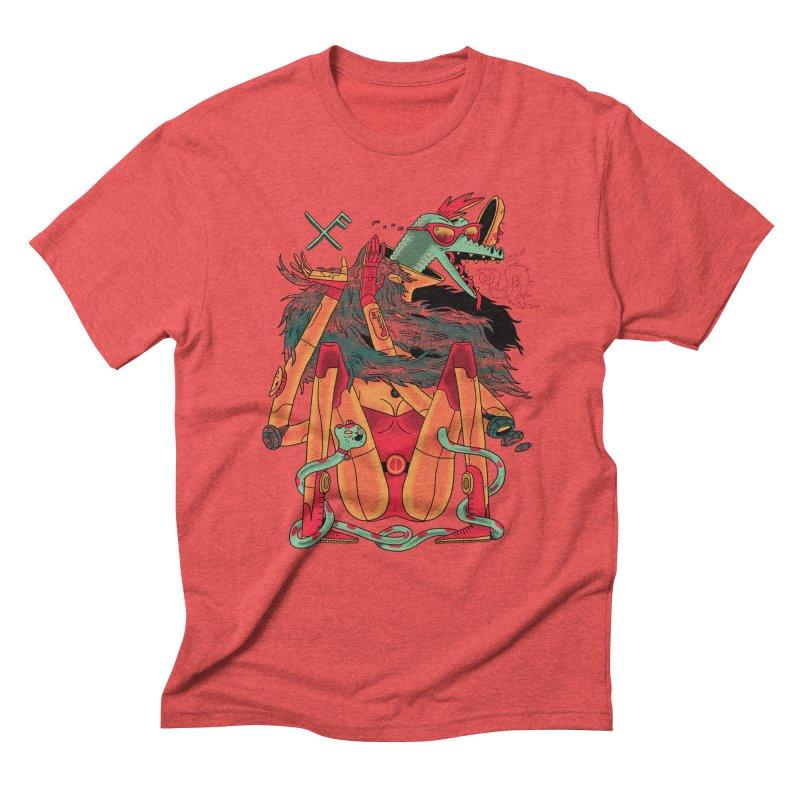 Gibbler 7 Men's Triblend T-Shirt by Burrito Goblin