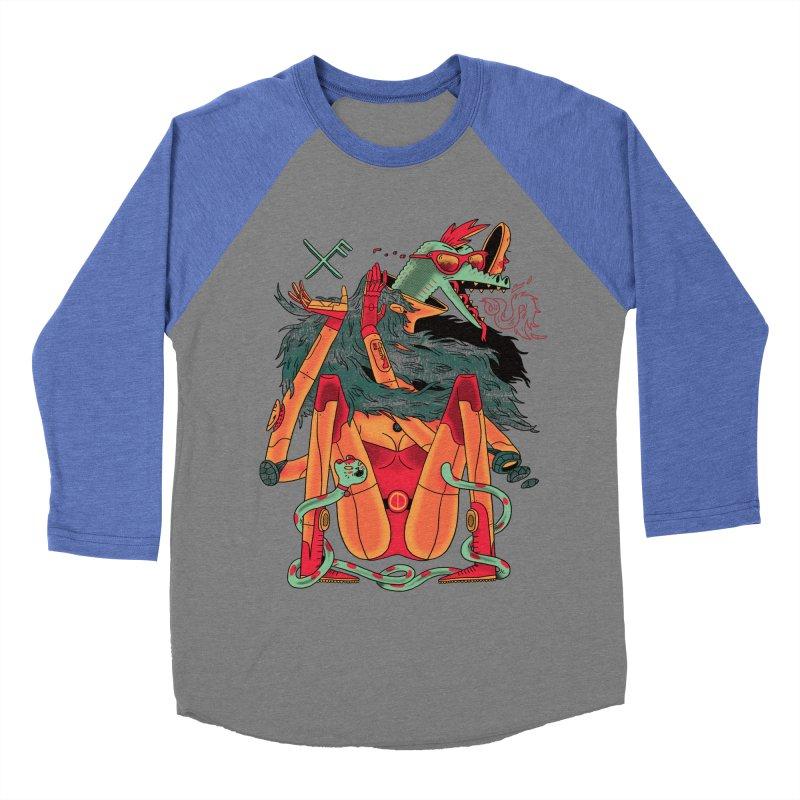 Gibbler 7 Women's Baseball Triblend Longsleeve T-Shirt by Burrito Goblin