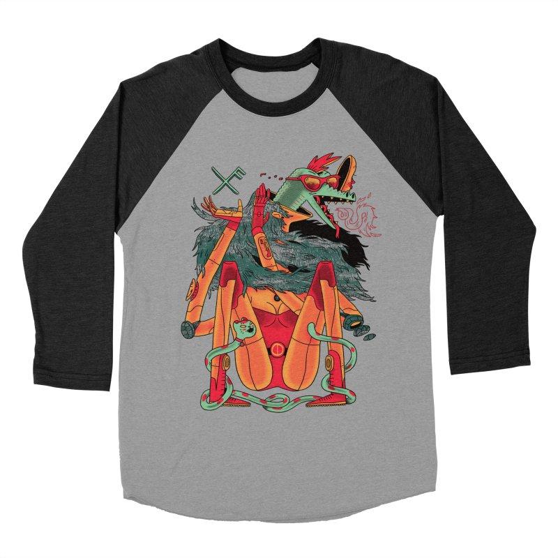 Gibbler 7 Women's Baseball Triblend T-Shirt by Burrito Goblin