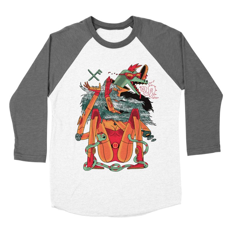 Gibbler 7 Men's Baseball Triblend Longsleeve T-Shirt by Burrito Goblin