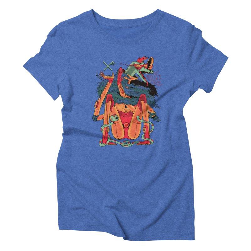 Gibbler 7 Women's Triblend T-Shirt by Burrito Goblin