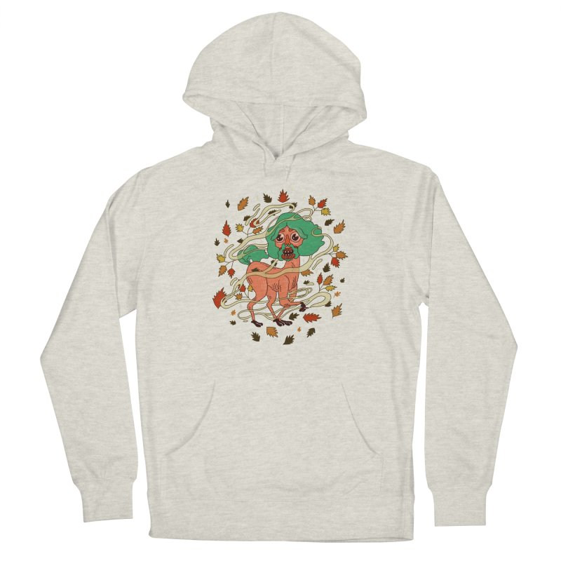 Magic Paul Women's French Terry Pullover Hoody by Burrito Goblin