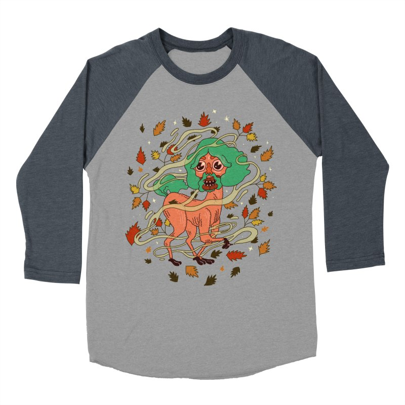 Magic Paul Women's Baseball Triblend Longsleeve T-Shirt by Burrito Goblin