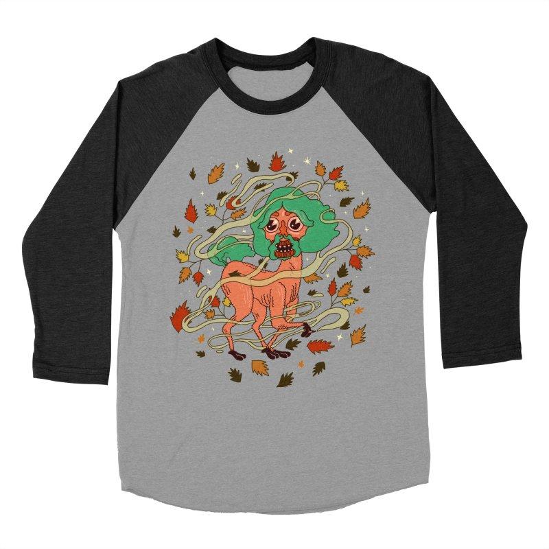 Magic Paul Men's Baseball Triblend Longsleeve T-Shirt by Burrito Goblin