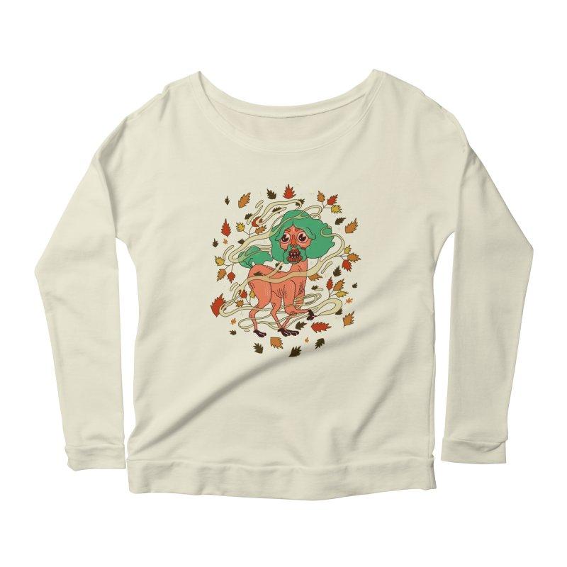Magic Paul Women's Scoop Neck Longsleeve T-Shirt by Burrito Goblin