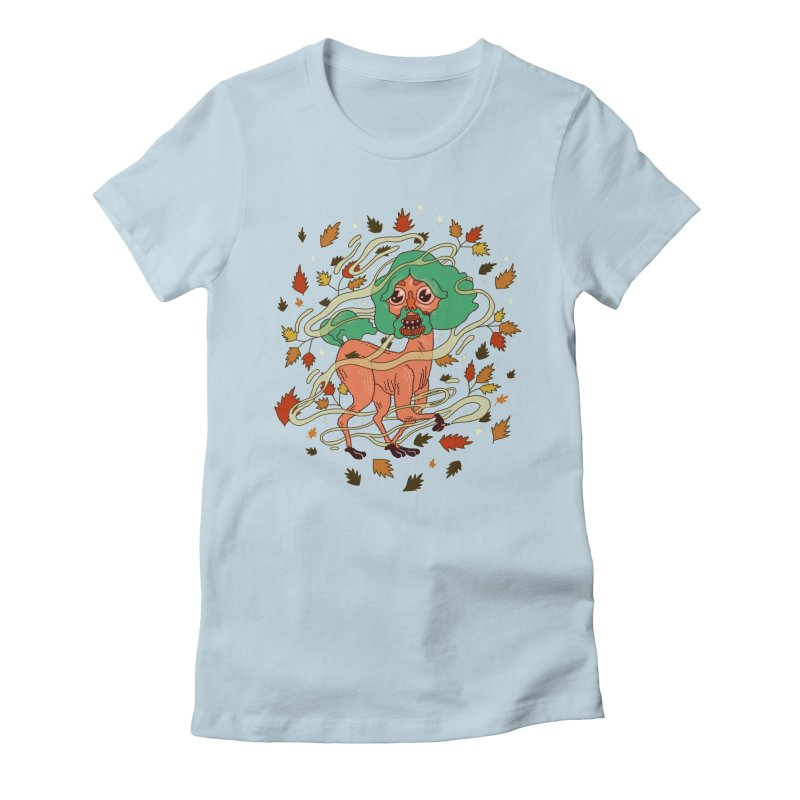 Magic Paul Women's Fitted T-Shirt by Burrito Goblin