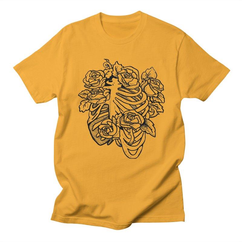 RIB CAGE Men's T-Shirt by bussola's Artist Shop