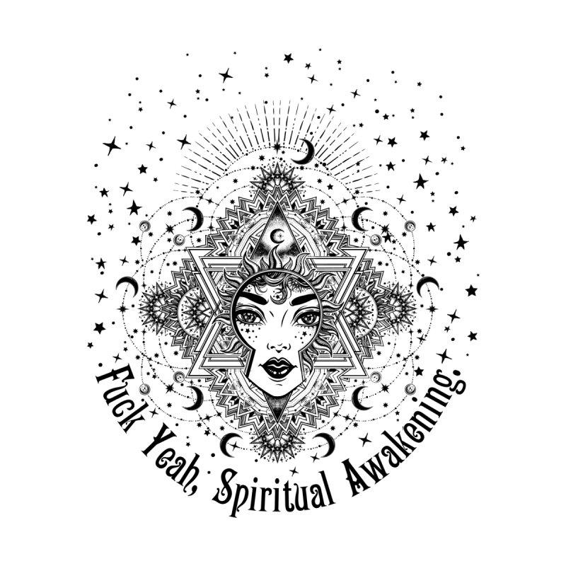 Spiritual Awakening Accessories Bag by Nisa Fiin's Artist Shop