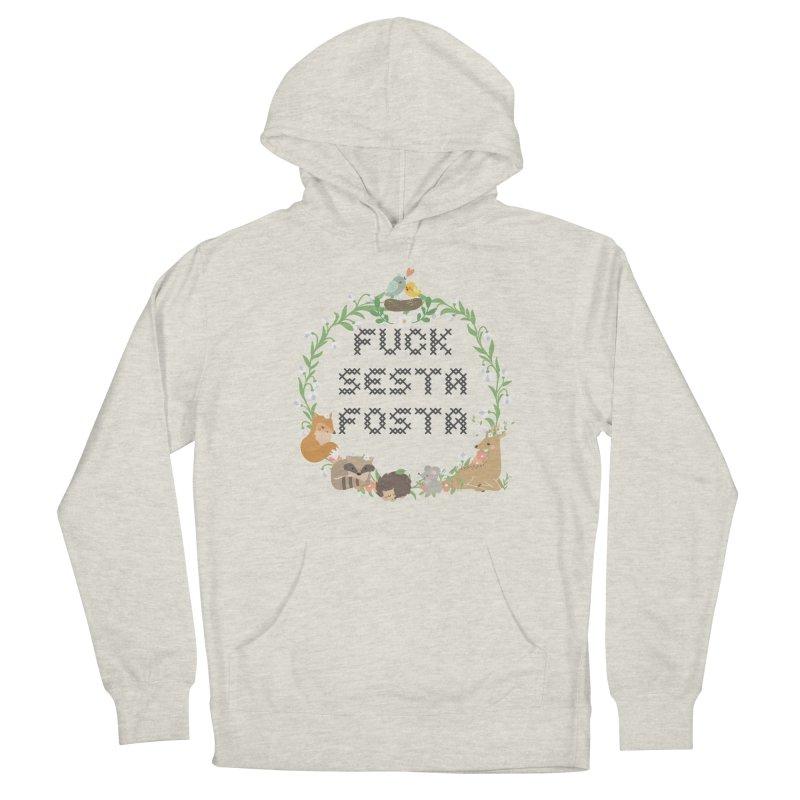 F Sesta Fosta - oh for cute Men's Pullover Hoody by Nisa Fiin's Artist Shop