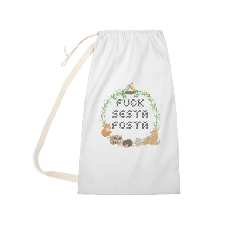 F Sesta Fosta - oh for cute Accessories Bag by Nisa Fiin's Artist Shop