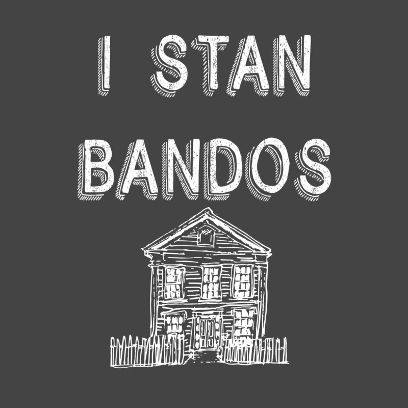 I Stan Bandos - white Men's Zip-Up Hoody by Nisa Fiin's Artist Shop