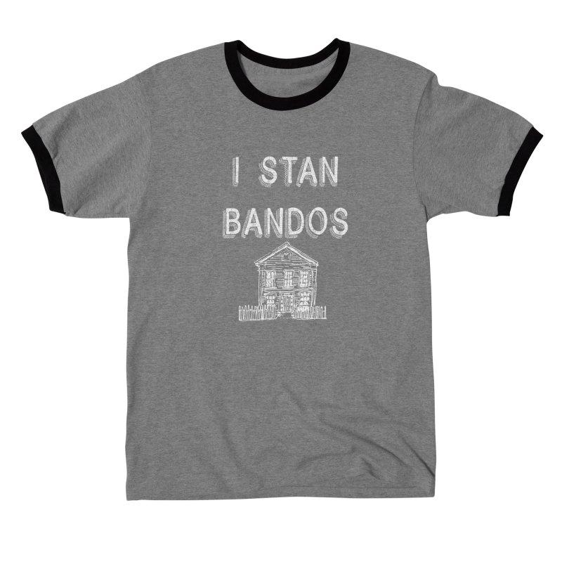 I Stan Bandos - white Men's T-Shirt by Nisa Fiin's Artist Shop