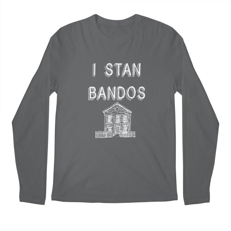I Stan Bandos - white Men's Longsleeve T-Shirt by Nisa Fiin's Artist Shop
