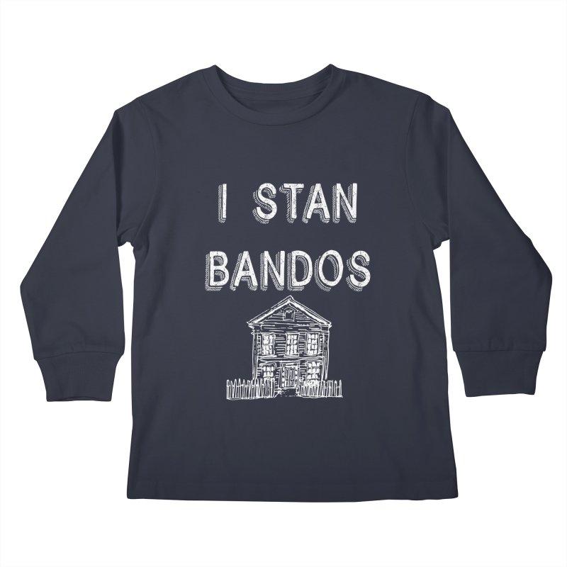I Stan Bandos - white Kids Longsleeve T-Shirt by Nisa Fiin's Artist Shop