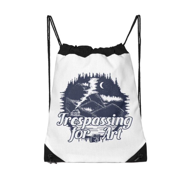 Trespassing for Art Accessories Bag by Nisa Fiin's Artist Shop