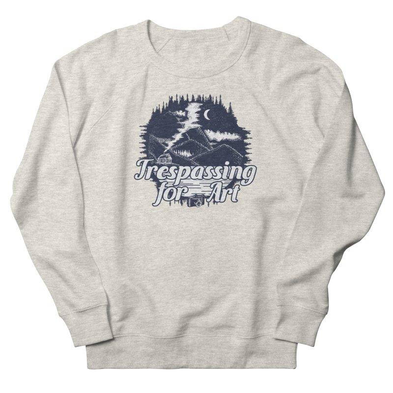 Trespassing for Art Men's Sweatshirt by Nisa Fiin's Artist Shop