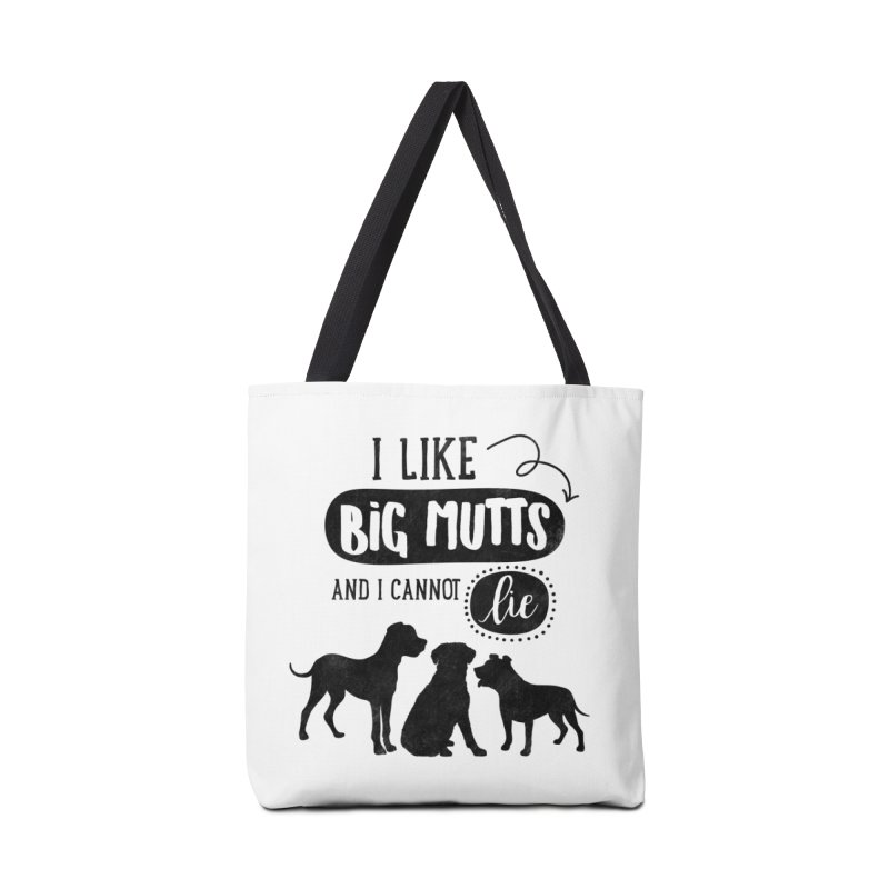 I Like Big Mutts Accessories Tote Bag Bag by Nisa Fiin's Artist Shop
