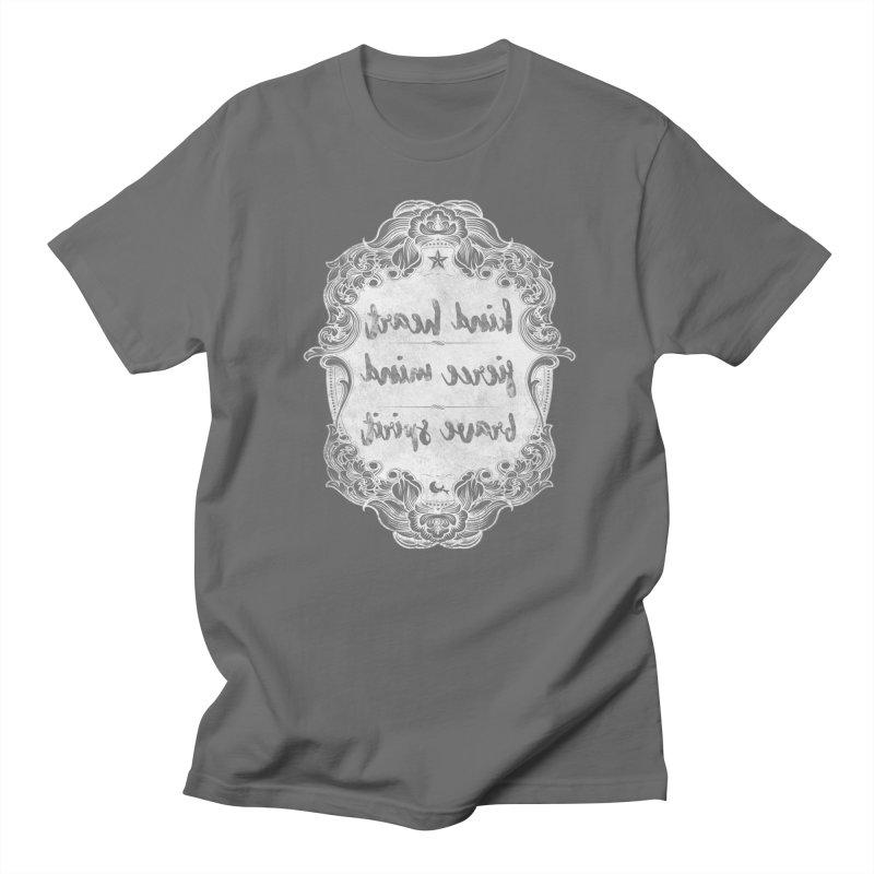 Kind Fierce Brave  -white Women's T-Shirt by Nisa Fiin's Artist Shop