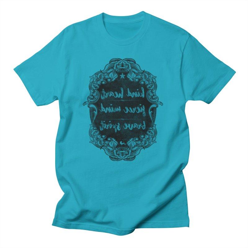 Kind-Fierce-Brave Women's Regular Unisex T-Shirt by Nisa Fiin's Artist Shop