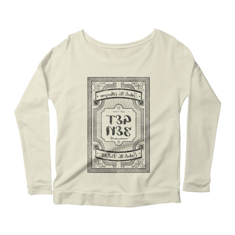 Get Zen Women's Scoop Neck Longsleeve T-Shirt by Nisa Fiin's Artist Shop