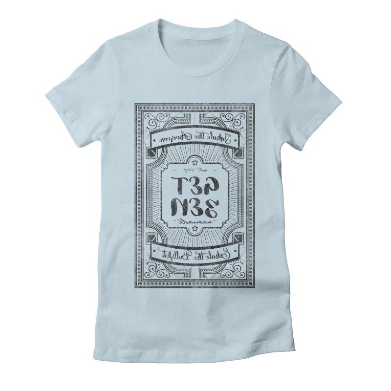 Get Zen Women's Fitted T-Shirt by Nisa Fiin's Artist Shop