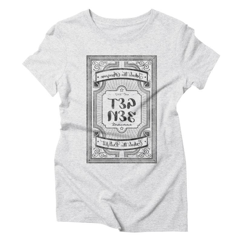 Get Zen Women's Triblend T-Shirt by Nisa Fiin's Artist Shop