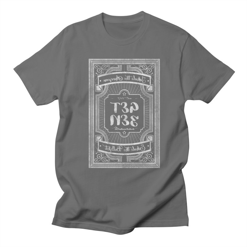 Get Zen - white Men's Regular T-Shirt by Nisa Fiin's Artist Shop