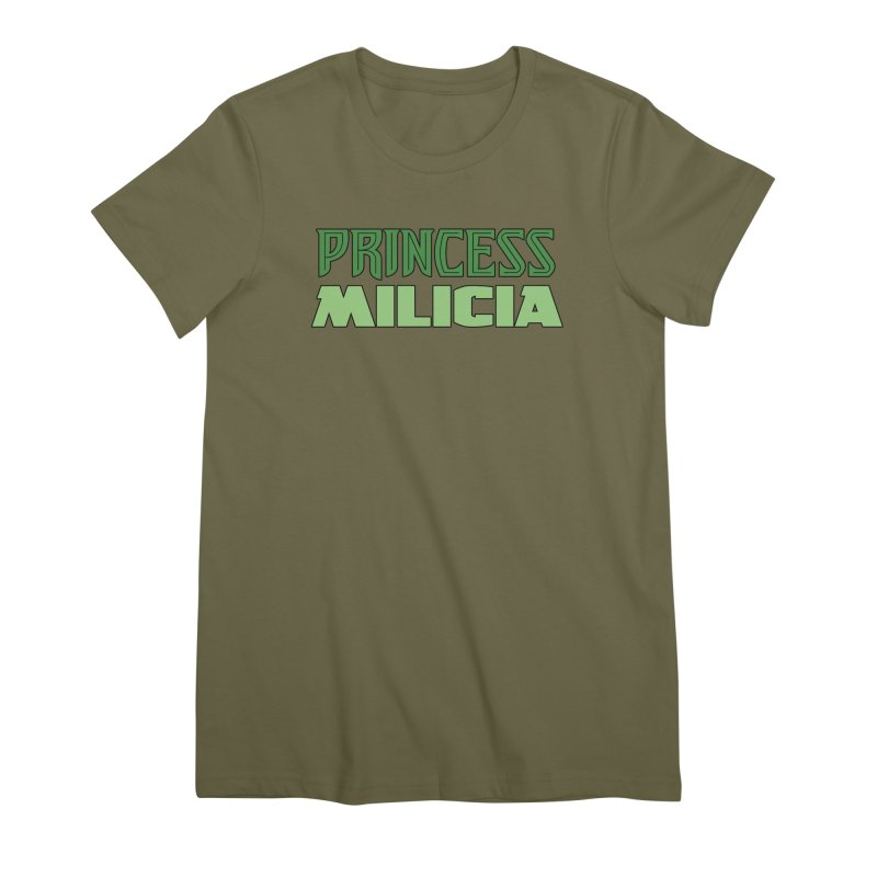 Princess Milicia Women's Premium T-Shirt by The Official Bustillo Publishing Shop