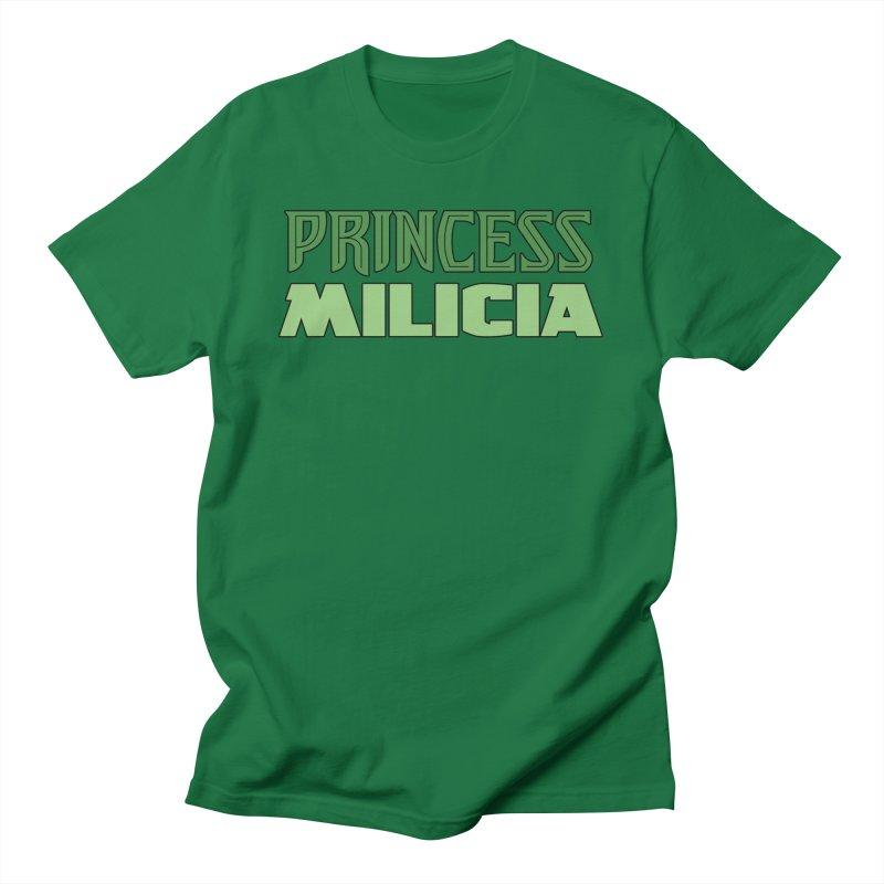 Princess Milicia Men's T-Shirt by The Official Bustillo Publishing Shop