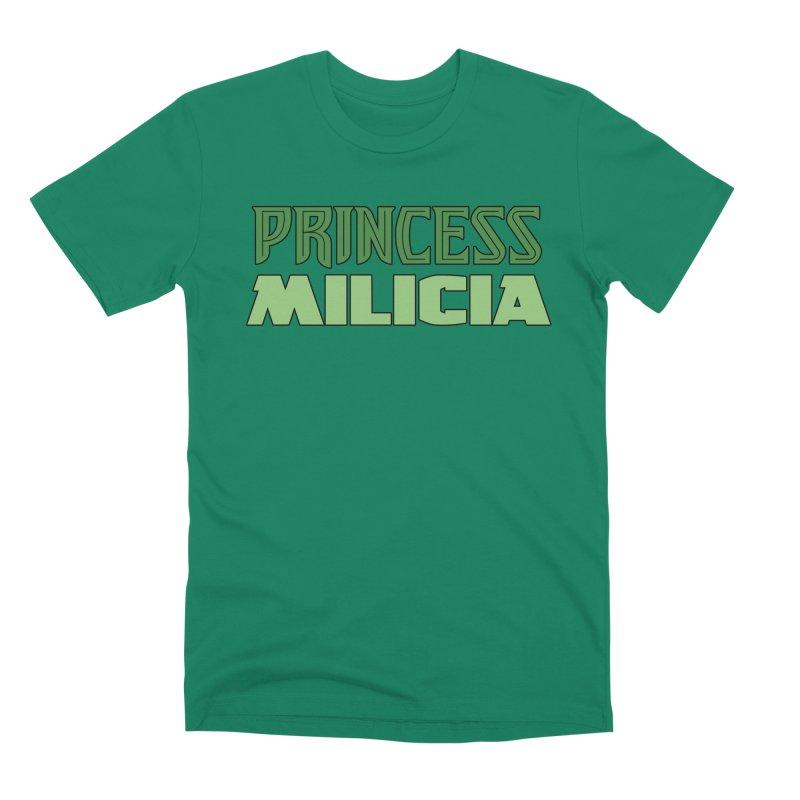 Princess Milicia Men's Premium T-Shirt by The Official Bustillo Publishing Shop