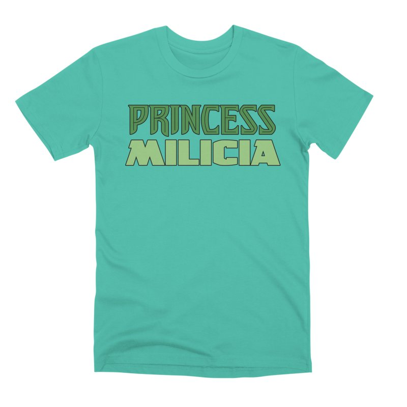Princess Milicia Men's Premium T-Shirt by The Official Bustillo Publishing Shop