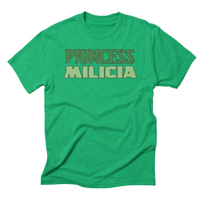 Princess Milicia Men's Triblend T-Shirt by The Official Bustillo Publishing Shop