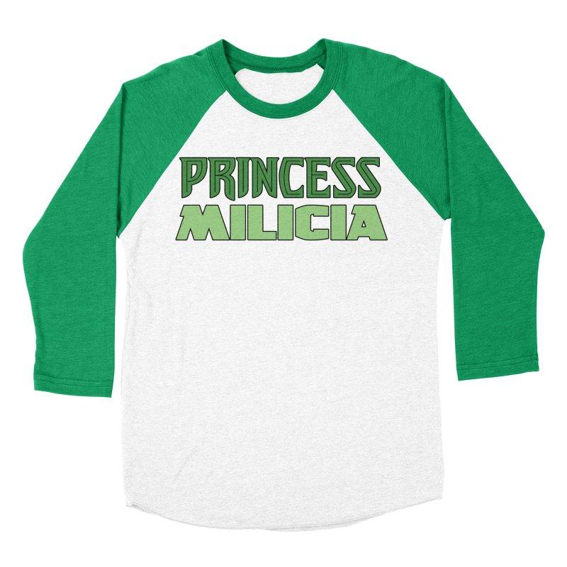 Princess Milicia Men's Baseball Triblend Longsleeve T-Shirt by The Official Bustillo Publishing Shop