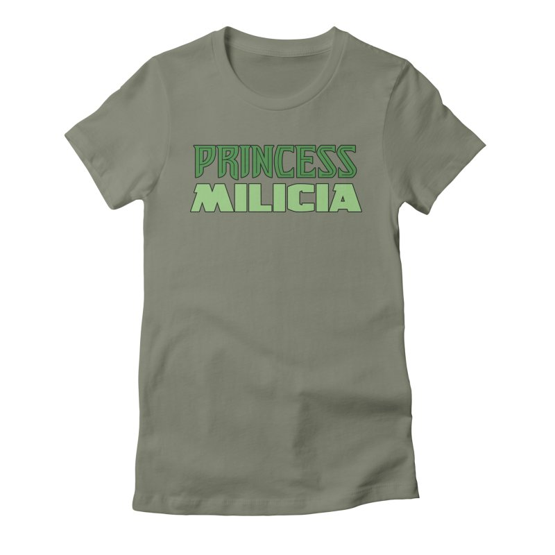 Princess Milicia Women's Fitted T-Shirt by The Official Bustillo Publishing Shop