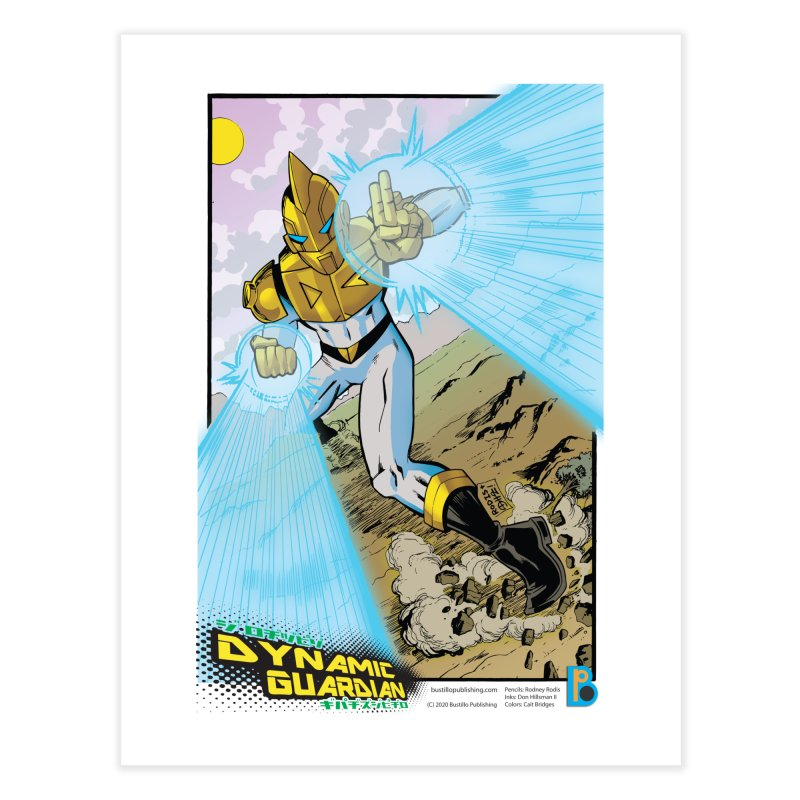 Dynamic Guardian Print Home Fine Art Print by The Official Bustillo Publishing Shop