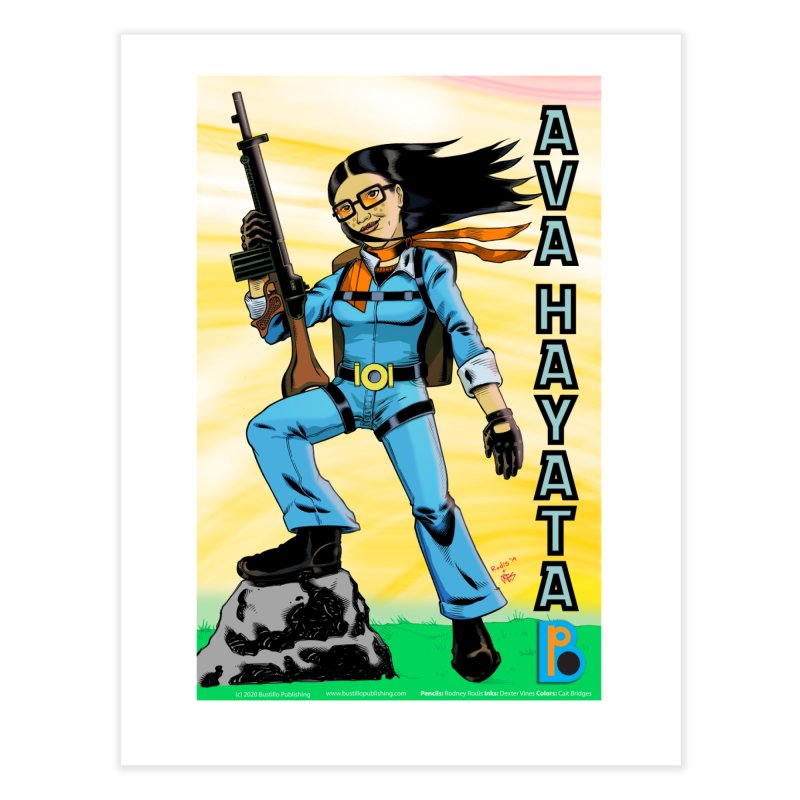 Ava Hayata Print Home Fine Art Print by The Official Bustillo Publishing Shop
