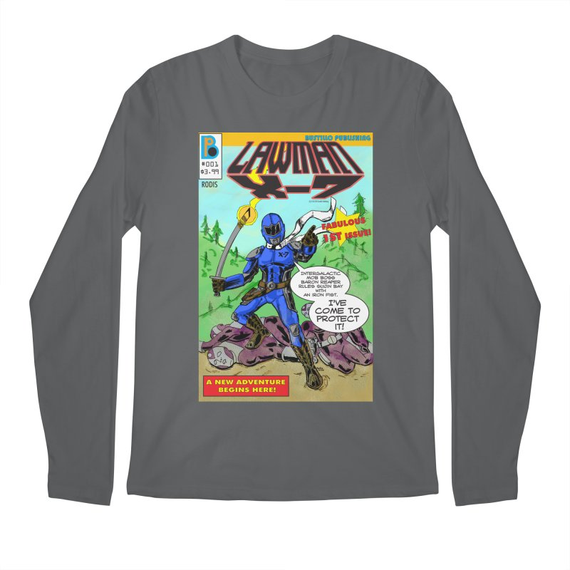 Lawman X-7 #001 Men's Longsleeve T-Shirt by The Official Bustillo Publishing Shop