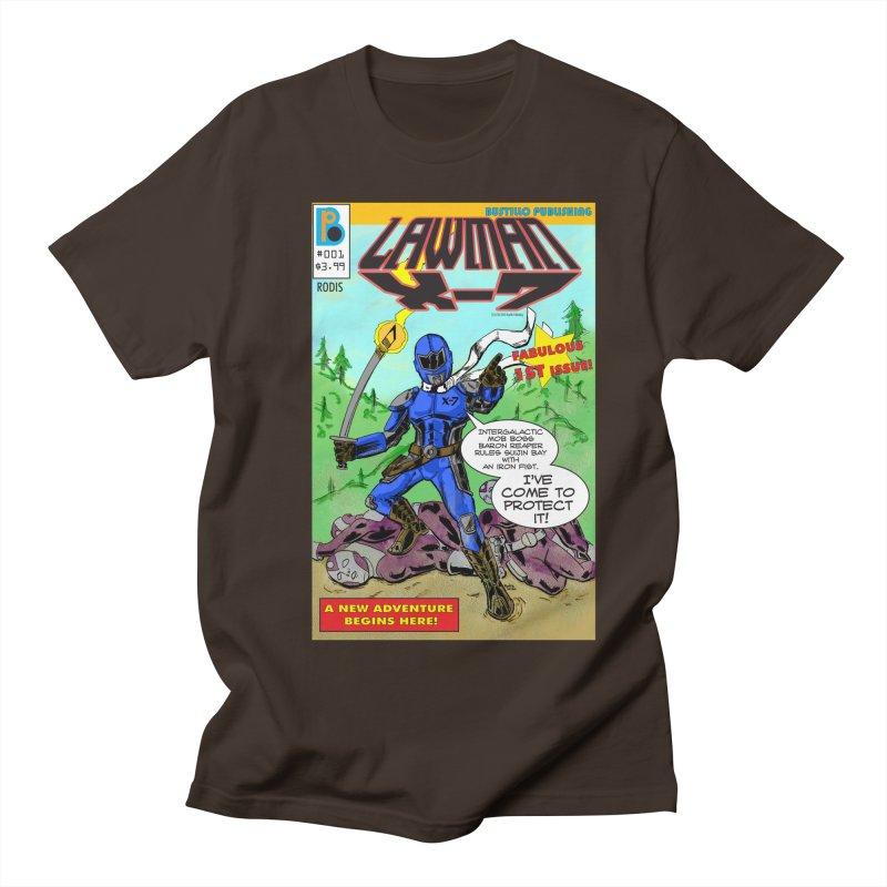 Lawman X-7 #001 Men's T-Shirt by The Official Bustillo Publishing Shop